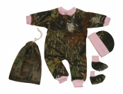Mossy Oak Pink Camo Baby Girl Gift Set