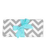 Caught Ya Lookin' Baby Changing Pad, Grey Chevron