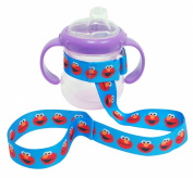 Petite Creations No Throw Sesame Street Bottle Holder Elmo, Blue