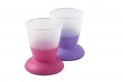 BABYBJORN Cup, Purple/Pink, 2-Count