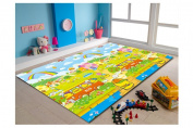 MyLine Eco baby play mat-Happy Chick/Animal ABC