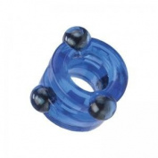 California Exotic Novelties Magnetic Power Ring Double Blue
