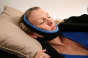 SnoreShield(TM) Stop Snoring Anti Snoring Jaw Strap - New Comfort Fit with Innovative Adjustable hook and loop to Fit any Size Head! #1 Ranked Device on the Market.