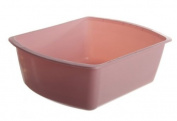 Medline Rectangular Plastic Wash Basins, Graphite