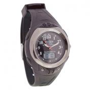 Reizen Digital Analogue Water-Resistant Talking Watch- Black