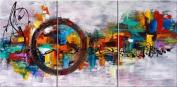 Santin Art-Circle Of Magic-Modern Canvas Art Wall Decor-Abstract Oil Painting Wall Art