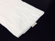 Set of 2 Twinkle 100% Cotton Pillowcase, queen Size 50cm x 80cm , White Pillow Protector, Best Pillow Cover, Hotel, School, Hospital Use, 300 TC