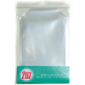 Avery Elle Stamp and Die Storage Pockets, Clear, 25-Pack