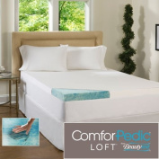 Beautyrest 7.6cm Gel Memory Foam Mattress Topper & Waterproof Cover - Queen - Deluxe Mattress Pad For Luxury Bedding. Dive Into Pristine Support And Comfort On Your Bed.