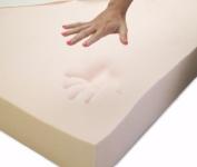 Memory Foam Solutions Twin X-Large 5.1cm Thick 2.3kg Density Visco Elastic Memory Foam Mattress Pad Bed Topper