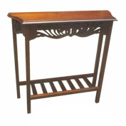 D-Art Mahogany Finish Serenity Entry Wall / Hall / Console / End Table