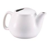 Browne Foodservice 564023W Ceramic Teapot, 470ml, White