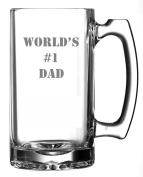 World's #1 Dad Beer Mug | 800ml