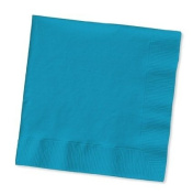 100 gorgeous Turquoise beverage/cocktail napkins for wedding/party/event, 2ply, disposable, 13cm x 13cm , Made in USA