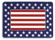 Creative Converting Red, White and Blue Patriotic Plastic Large Serving Tray, 41cm x 30cm