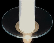 Glass Bobeche Candle Rings Wax Catcher Rings