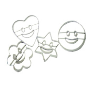 Lovely [Smile Face] Steel Fruit/Vegetable Slicers/Cutters Cookie Cutter