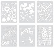 Artool Freehand Airbrush Templates, Mini FX4 Series Set