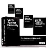 Cards Against Humanity Complete Bundle Set Base Set Plus 1st 2nd 3rd 4th Expansion Packs New
