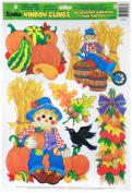 Eureka Harvest Scarecrows Clings