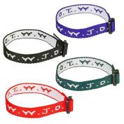W.W.J.D. Webbing Bracelet Assortment