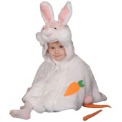 Dress up America Cosy Little Bunny Costume Cape Set