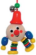 Hess Wooden Baby Toy Joker Clip On