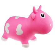 Skibz Kidzzfarm Bella Cow - Pink & White Hopper - NEW!
