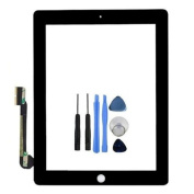 New Replacement Digitizer Touch Screen Glass Display for iPad 4 Black 4G 4th Gen