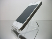 6-Pack of Clear Acrylic Cell Phone Stands