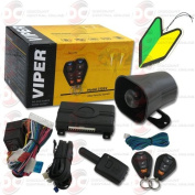 2013 Viper 1-way Car Alarm Security System with Keyless Entry + FREE Squash Air Fresheners