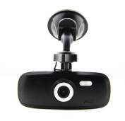 Black Box G1W-C Dashboard Dashcam - Capacitor Model - Best Heat Resistance - Full HD 1080P H.264 6.9cm LCD Car DVR Camera Video Recorder - WDR 140° Wide Angle 4x Zoom with Motion Detection Night Vision G-Sensor - NT96550 + AR0330