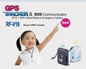 GSM tracker RF-V16 real-time tracking mini size SOS communicator GPS tracker GPR