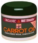 Organic Root Stimulator Carrot Oil Jar- 180ml by NAMASTE LABORATORIES BEAUTY