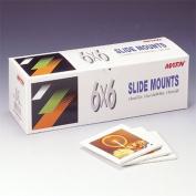 Matin ABS Plastic Slide Mounts Tray 6x6 - 50pcs