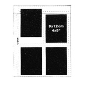 """Matin Archival Slide Negative Clear Sheets Sleeves for 4x5"""" 9x12cm - 100pcs"""