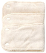 Bambinex 3.5-10Kg Size 1 Bamboo Stretch Inserts with Popper Fastenings for Bamboo Nappy