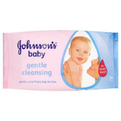 Johnsons Baby Wipes - 6 x 56's