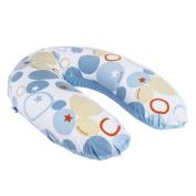 Doomoo Buddy Cushion Stones Blue, ideal for Mum & Baby