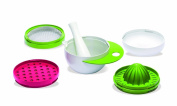 40Settimane QS0210004 5 in 1 Baby Food Accessory Set Green
