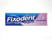 Fixodent Denture Cream Complete Original Strong Hold 47g