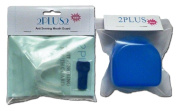 Anti Snore Stop Snoring Clinically Proven to eliminate snoring Mouth Guard Apnoea PLUS Blue Case + 30 day.
