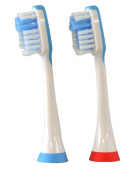 IBP Sonic Plakaway Replacement Toothbrush Heads for B093 Toothbrush Only Colour Coded Twin Pack