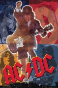 AC/DC POSTER Angus Young - ACDC Collage RARE HOT 24X36
