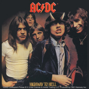 Licences Products AC/DC Highway To Hell Sticker
