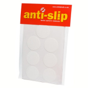 Non Slip Bath Safety Stickers + fitting template