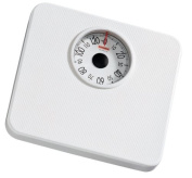 Soehnle 61074 Form Analogue Personal Bathroom Scale, White