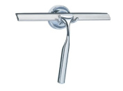 Shower Drape Shower Squeegee & Holder Chrome
