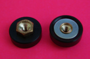 4 x Shower Door ROLLERS /Runners/Wheels Replacement Parts Small Spares L042