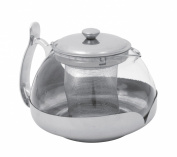 Equinox 503033 Transparent Teapot Stainless Steel / Glass